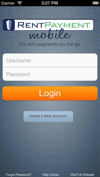 Rent Payments iPhone App