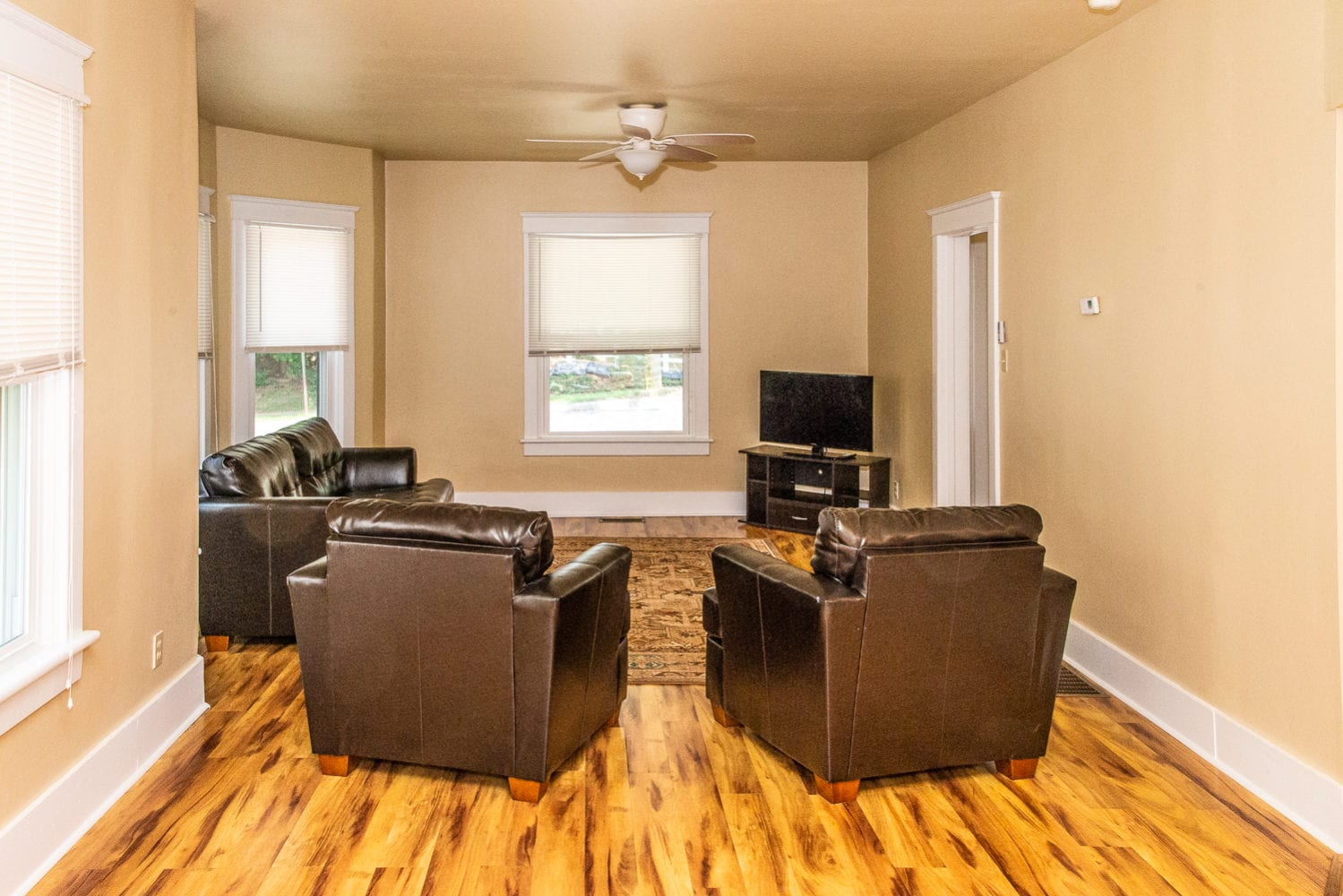 Hard Wood Flooring Living Room