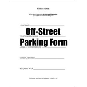 parking-form
