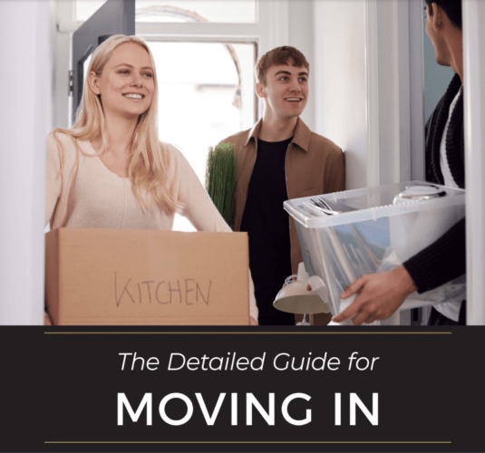 Moving In Guide